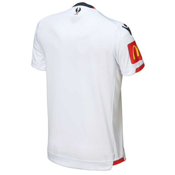 Adelaide United 2018 / 19 Kids Away Jersey Red XXS, Red, rebel_hi-res