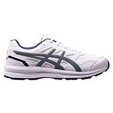 Asics Gel Mission 3 Mens Training Shoes White / Blue US 7, White / Blue, rebel_hi-res
