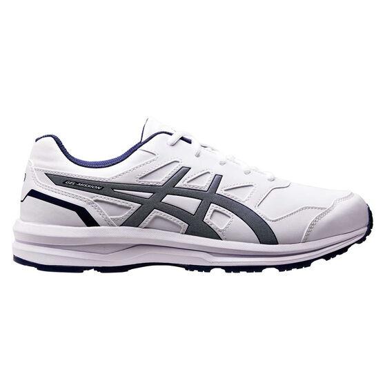 Asics Gel Mission 3 Mens Training Shoes, White / Blue, rebel_hi-res