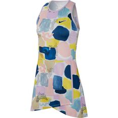 NikeCourt Womens Tennis Dress Multi XS, Multi, rebel_hi-res