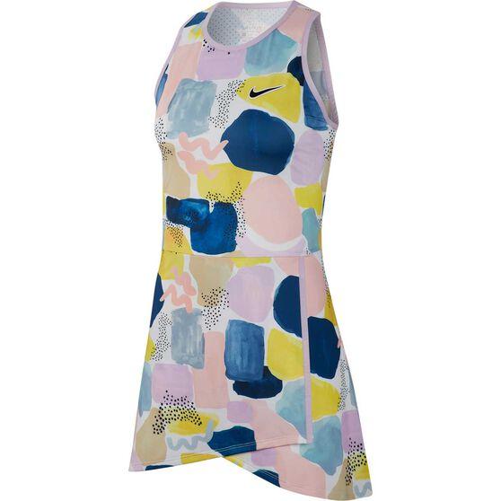 NikeCourt Womens Tennis Dress, Multi, rebel_hi-res