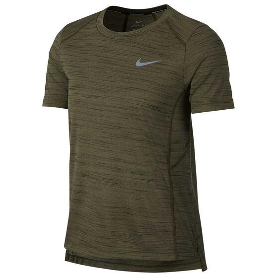 Nike Womens Miler Running Tee, , rebel_hi-res