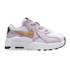 Nike Air Max Excee Toddlers Shoes Purple/White US 4, Purple/White, rebel_hi-res
