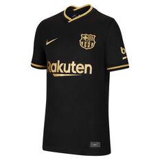 FC Barcelona 2020/21 Kids Away Jersey Black XS, Black, rebel_hi-res