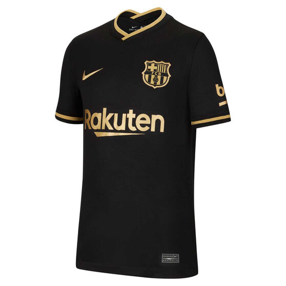 FC Barcelona 2020/21 Kids Away Jersey, Black, rebel_hi-res