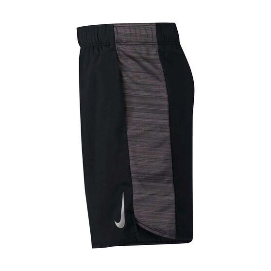 Nike Boys Dri-FIT Flex Shorts, Black / Grey, rebel_hi-res