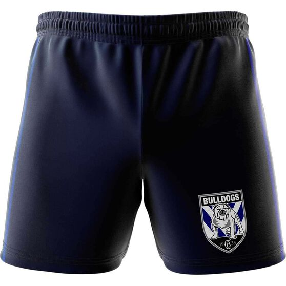 Canterbury-Bankstown Bulldogs Mens Club Fleece Shorts Navy, Navy, rebel_hi-res