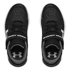 Under Armour Rogue 2 Kids Running Shoes, Black/White, rebel_hi-res