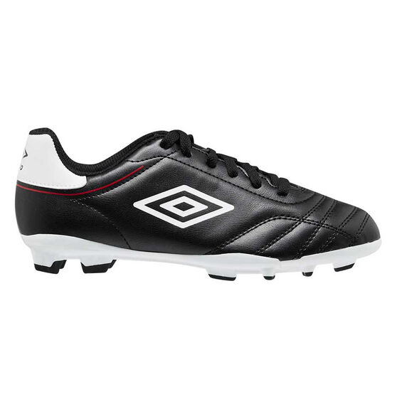Umbro Classico VIII Kids Football Boots, Black/White, rebel_hi-res