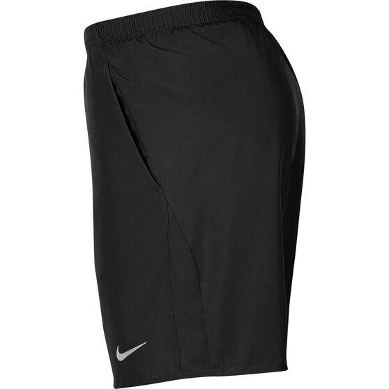 Nike Mens 7in Running Shorts, Black, rebel_hi-res