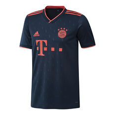 FC Bayern Munich 2019/20 Mens 3rd Jersey Navy / Red XL, Navy / Red, rebel_hi-res