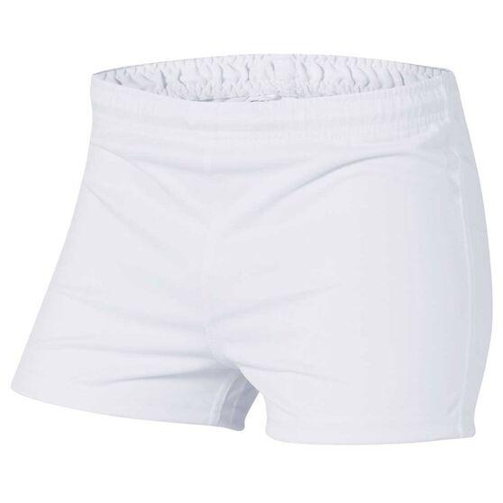 02198b0987c8c Burley Mens Football Shorts White 20 Adults