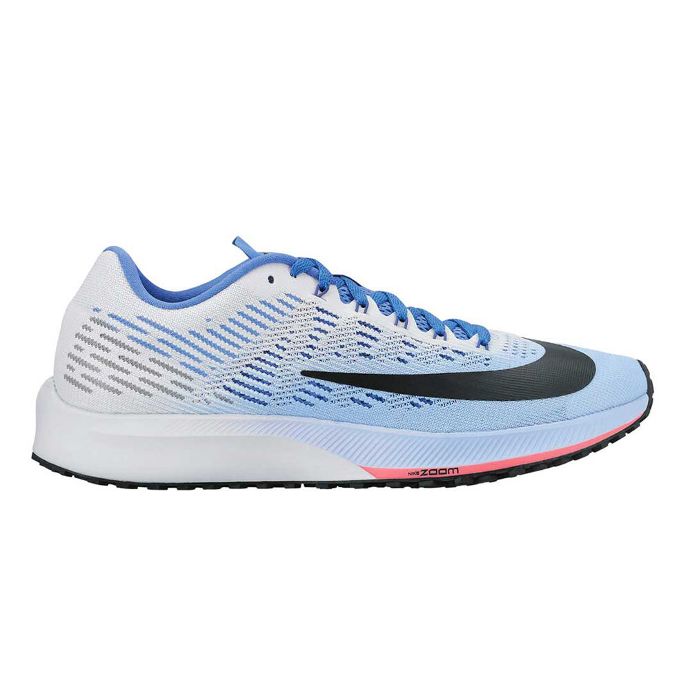 55f2af53a442 Nike Air Zoom Elite 9 Womens Running Shoes White   Blue US 6
