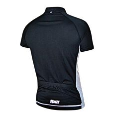 Netti Mens Cruze Cycling Jersey Black / White S, Black / White, rebel_hi-res