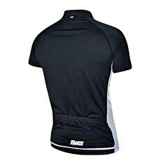 ... Netti Mens Cruze Cycling Jersey Black   White S 8a7e87a27