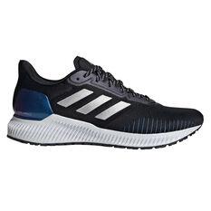 adidas Solar Ride Mens Running Shoes Black/Grey US 9.5, Black/Grey, rebel_hi-res