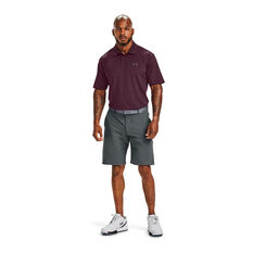 Under Armour Mens Performance 2.0 Polo, Maroon, rebel_hi-res