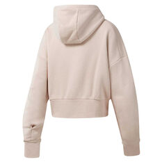 Reebok Womens Studio Fashion Hoodie Pink XS, Pink, rebel_hi-res