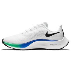 Nike Air Zoom Pegasus 37 Womens Running Shoes White/Crimson US 6, White/Crimson, rebel_hi-res