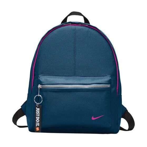 3607340690 Nike Youth Classic Backpack Blue   Black