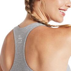 Nimble Womens Move Well Sports Bra Grey XXS, Grey, rebel_hi-res