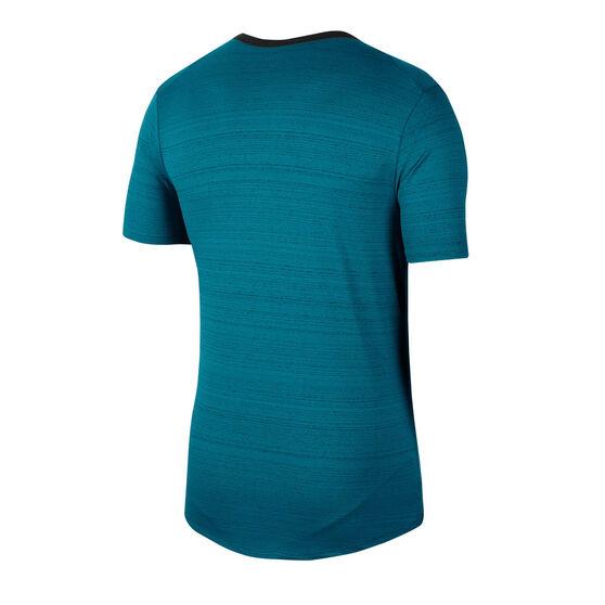 Nike Mens Dri-FIT Miler Running Tee, Blue, rebel_hi-res