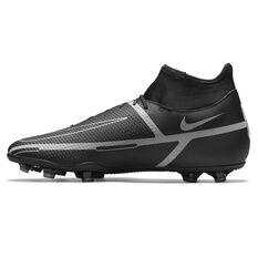 Nike Phantom GT2 Club Dynamic Fit Football Boots Black/Grey US Mens 4 / Womens 5.5, Black/Grey, rebel_hi-res
