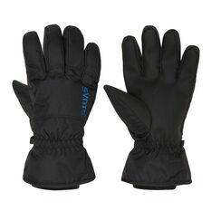 SVNT5 Mens Drop Gloves Black S, Black, rebel_hi-res