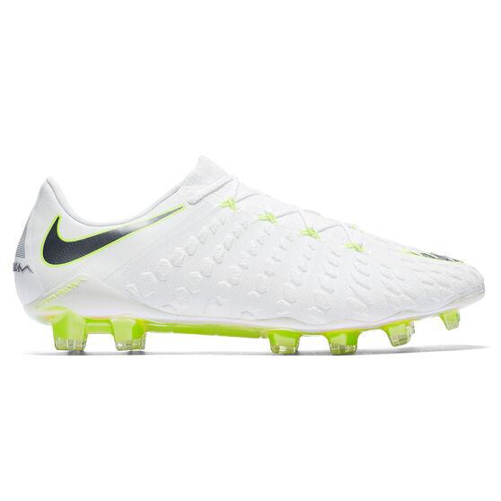 0929b9bfd08 Nike Hypervenom Phantom III Elite Mens Football Boots White   Grey US 8