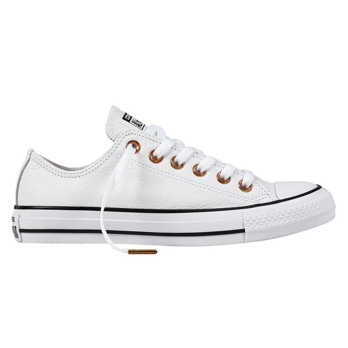 Converse Chuck Taylor All Star Low Office Womens Casual Shoes White Black US 6