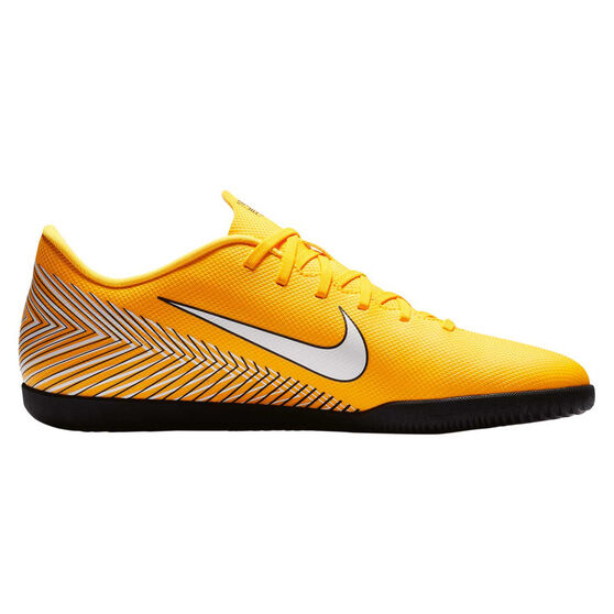 Nike Mercurial Vapor 12 Club Neymar Jr Mens Indoor Soccer Shoes Yellow    White US 9 15287fbbc3210