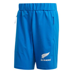 All Blacks Rugby World Cup 2019 Mens Woven Shorts Blue S, Blue, rebel_hi-res