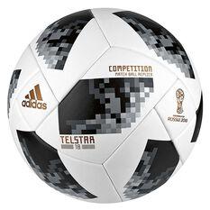 adidas Telstar 2018 Competition Soccer Ball White / Black 5, White / Black, rebel_hi-res
