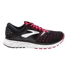 Brooks Glycerin 16 Womens Running Shoes Black / Pink US 6, Black / Pink, rebel_hi-res