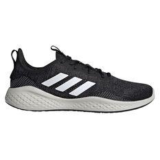 adidas Fluidflow Mens Casual Shoes Black/White US 7, , rebel_hi-res