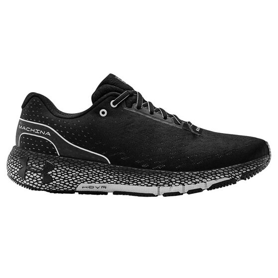 Under Armour HOVR Machina Mens Running Shoes, Black, rebel_hi-res