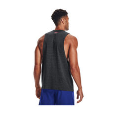 Under Armour Mens Project Rock Property Of The Iron Paradise Tank Black S, Black, rebel_hi-res