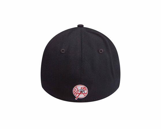 New York Yankees Logo New Era 39THIRTY Cap Black, Black, rebel_hi-res