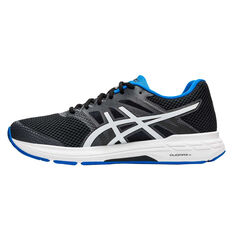 Asics GEL Exalt 5 Mens Running Shoes, Black/White, rebel_hi-res