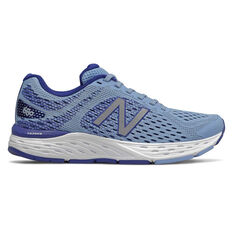 New Balance 680v6 D Womens Running Shoes Blue US 6, Blue, rebel_hi-res