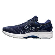 Asics GEL Kayano 27 Mens Running Shoes Blue/Grey US 7, Blue/Grey, rebel_hi-res