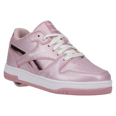 Reebok BB4500 Low Heelys Pink/Silver US 13, Pink/Silver, rebel_hi-res