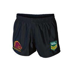 Brisbane Broncos Mens Supporter Shorts, , rebel_hi-res