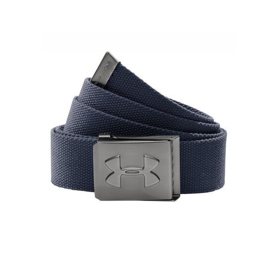 Under Armour Webbed Belt Navy, , rebel_hi-res