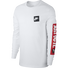 Nike Mens Sportswear JDI Long-Sleeve Tee, White, rebel_hi-res