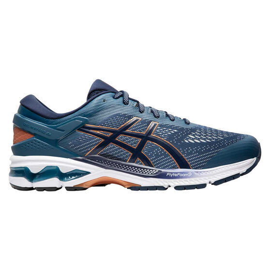 Asics GEL Kayano 26 Mens Running Shoes Blue US 11.5, , rebel_hi-res