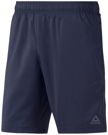 Reebok Mens Elements Woven Shorts, Navy, rebel_hi-res