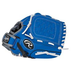 Rawlings Players Right Hand 10.5in Baseball Glove Blue / Black, , rebel_hi-res