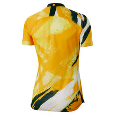 Matildas 2019 Womens Home Jersey Yellow S, Yellow, rebel_hi-res