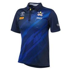 North Queensland Cowboys 2019 Mens Sub Polo Navy S, Navy, rebel_hi-res